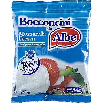 ALBE Queso mozzarella fresco  bolsa 125 g