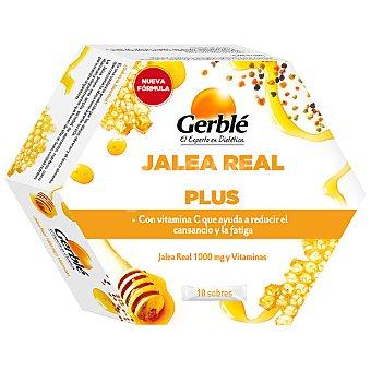 Gerblé Jalea real Plus 10 sobres envase 132 g Envase 132 g