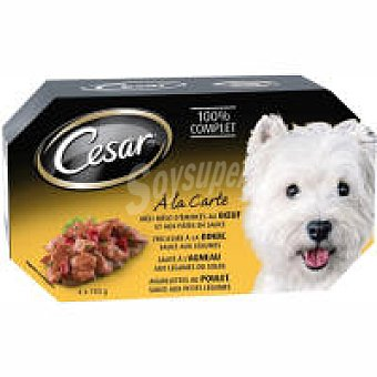 Cesar Salsa culinaria Pack 4x150 g