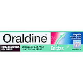 ORALDINE Dentífrico Tubo 125 ml