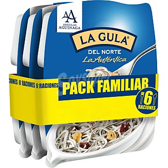 Angulas Aguinaga Gula del norte Pack familiar 6 raciones / 600 g