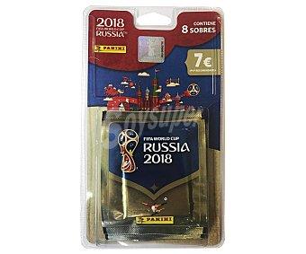 Panini 8 sobres de cromos coleccionables 2018 Russia worldcup, PANINI.