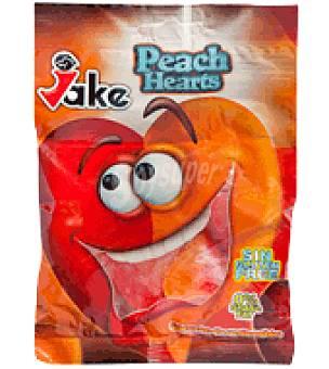 Jake Caramelos de goma de corazón de melocotón 100 g