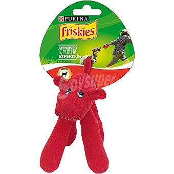 Friskies Purina Juguete de peluche para perros modelos surtidos de animales  1 unidad