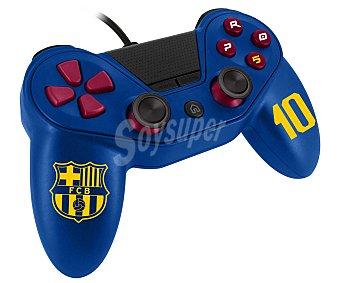 Fc barcelona Mando con cable compatible con Playstation 4 1 unidad