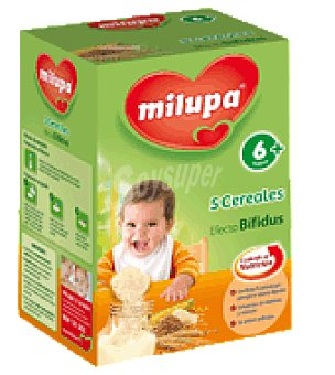 Milupa Cereal 5 cereales efecto bifidus 500 g