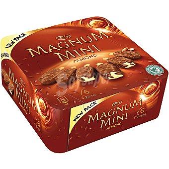 Magnum Magnum Mini Almendras Helado 6 x 60 ml 60 ml