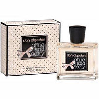 Don Algodón Colonia chic&sexy para mujer Frasco 100 ml