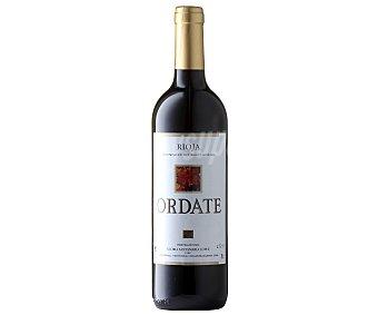 Ordate Vino Tinto Rioja Joven Botella 75 Centilitros