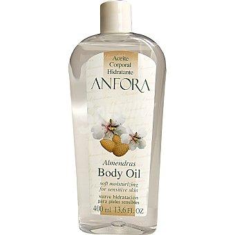 Anfora Aceite corporal hidratante con almendras Frasco 400 ml