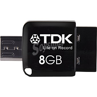 TDK Pen Drive 2 en 1 8 GB