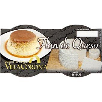 VILLACORONA Flan de queso Pack 2x110 g