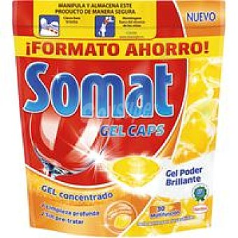 Somat Lavavajillas Maquina Limón  30 dosis