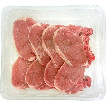 AVINYO Chuletas de lomo de cerdo bandeja familiar peso aproximado 900 g