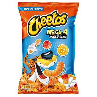 Cheetos Snack mix de formas y sabores Mega 4 180 g