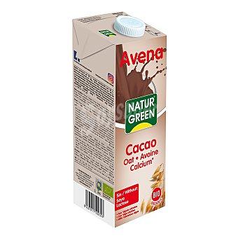 Naturgreen Bebida de avena, chocolate y calcio bio 1 l