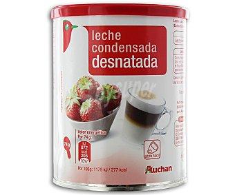 Auchan Leche condensada desnatada 740 gramos