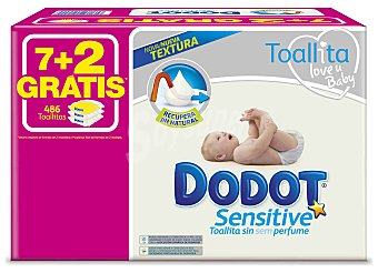 Dodot Sensitive Dodot Sensitive Toallitas Pack Ahorro 9 uds 486 ud