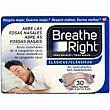 Tiras nasales pequeñas caja 30 unid Breathe Right