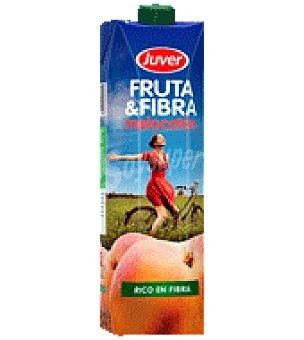 Juver Fruta y fibra melocoton Envase de 1 l