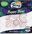 Servilletas foxy hour 60 unidades Happy