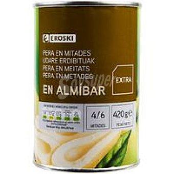 Eroski Pera en almíbar Lata 240 g