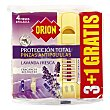Pinza antipolillas protección total perfume lavanda fresca  Bolsa de 3 unidades Orion