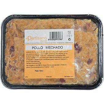 El partisano Pollo mechado tarrina 500 g tarrina 500 g