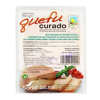 Soria Natural Queso de soja semicurado quefu 200 g