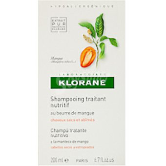 Klorane Champú al mango Bote 200 ml