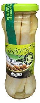 Hacendado Esparrago blanco delgado 6/10 piezas conserva Tarro 230 g escurrido