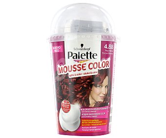 Palette Schwarzkopf Tinte Rojo Intenso Nº4.88 Mousse Color 1 Unidad