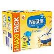 Papilla infantil desde 6 meses de 8 cereales sin azúcar añadido Nestlé 2400 g Nestlé Papillas