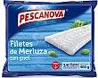Filetes de Merluza sin piel, , 3-6 filetes medianos 400 g Pescanova