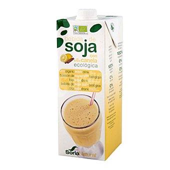 Soria Natural Bebida de soja con canela y limon bio 1 l