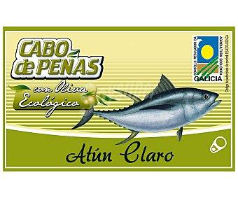 Cabo de Peñas Atún claro en aceite de oliva virgen extra ecológico 72,5 gramos