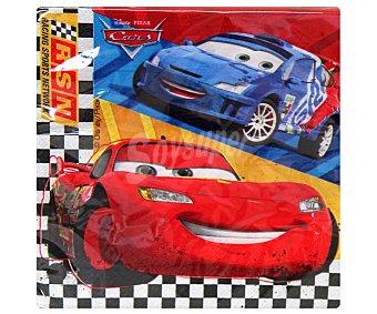 Disney Servilletas de papel con ilustraciones de Cars, 33x33 centímetros cars Pack 20 Unidades