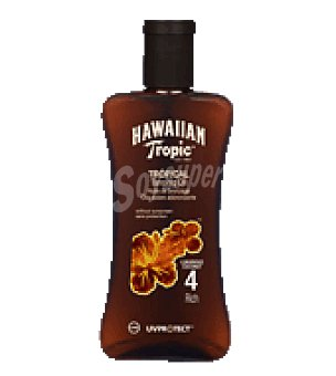 Hawaiian Tropic Aceite spf 4 200 ml