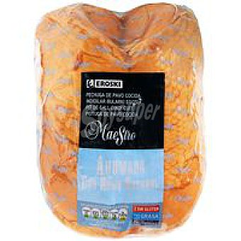Eroski Pechuga de pavo cocida-ahumada 100 g