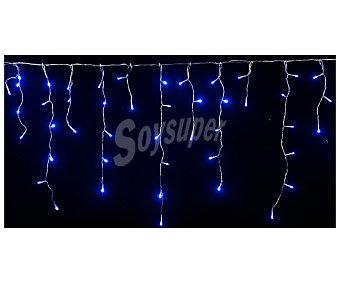 Actuel Cortina con 240 luces led con 8 efectos diferentes de encendido y luz de color azul ACTUEL.