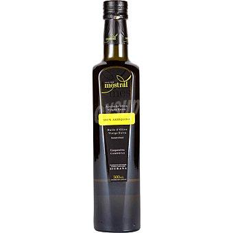 MESTRAL Aceite de oliva virgen extra 100% arbequina D.O. Siurana Botella de 500 ml