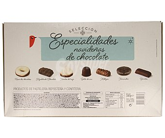 Auchan Surtido de especialidades con chocolate, 340 gramos