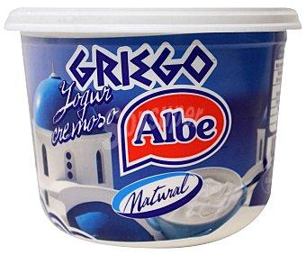 ALBE Yogur natural griego sin gluten 500 gramos