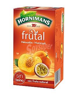 Hornimans Frutal Melocotón - Maracuyá 20F 20 Bolsitas 40 Gramos