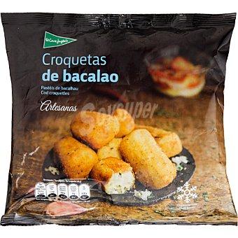 El Corte Inglés Croquetas de bacalao artesanas bolsa 500 g Bolsa 500 g