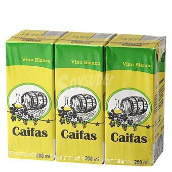 Caifas Vino Blanco Pack 3x200 ml