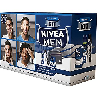 Nivea pack Originals con bálsamo after shave For Men frasco 100 ml