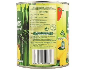 Auchan Piña en su jugo 490 gramos