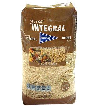 Hipercor Arroz redondo integral paquete 1 kg Paquete 1 kg