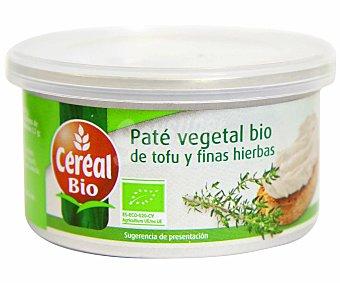 CEREAL BIO Paté ecológico vegetal a las finas hierbas 125 gramos